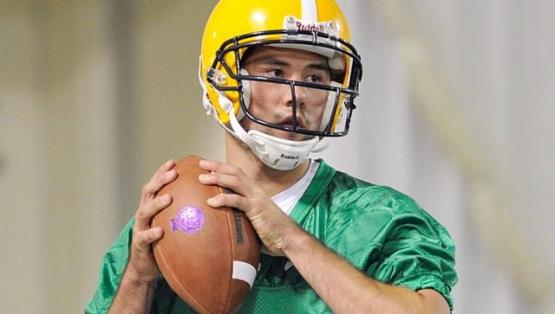 Former Loon Zach Lee was a star quarterback in high school, and was recruited to play baseball and football by LSU.