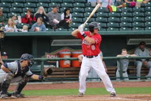 Kyle Farmer was batting .310 with the Loons before being promoted to Rancho Cucamonga.