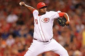 A slimmed-down Jumbo Diaz made his MLB debut with the Reds this season.